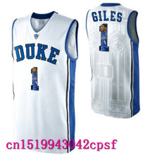 2017 Hot Sale Devils Garyson Glles #1  Allen #3 Duke Blue Basketball Jerseys High Quality