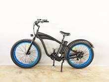 Cheap P 7 Speed 26*4.0 inch 48V 750Watt 16Ah Samsung cell Li Ebike Merry Gold Hummer 2.0 Electric Mountain Bike Bicycle