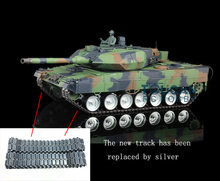 Henglong 1/16 German Leopard2A6 RC Tank Metal Road Wheel 360 Degree Turrets 3889
