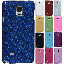 Shiny glitter bling football skin sexy lady hard plastic Case for Samsung GALAXY Note 4 N9100 protector back Cover 13 colors