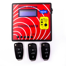 Digital Counter Remote Master Auto key programmer/Computer Remote Control Copying Machine/Radio Frequency Tester With 3pcs Keys(China)