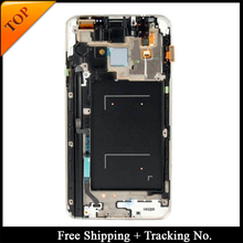 Tracking No. 100% tested Super AMOLED For Samsung N7505 LCD Display Note 3 Neo LCD Screen Touch Digitizer Assembly(China)