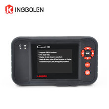 Launch Creader VIII ABS/SRS/Transmission/Engine OBDII Code Reader Brake/Oil/SAS Reset X431 Diagnostic Tool Creader 8 Scanner(China)