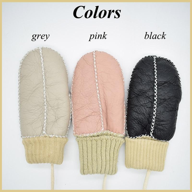 child sheepskin gloves colors