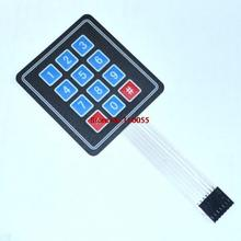 5pcs/lot 4x3 Matrix Array 12 Key Membrane Switch Keypad Keyboard 3*4 Control Panel Microprocessor Keyboard for AVR(China)