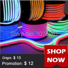 DHL Free LED Neon Flex for building outline decorations 80led/m F5 DIP Red,Blue,Green,White led neon tube SMD5050 Jacket