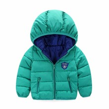 Winter Newborn Baby Snowsuit fashion Girls Coats And Jackets Baby Warm Overall Kids Boy Jackets Outerwear Clothes 7-24 month(China)