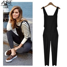 Rompers Womens Jumpsuit Fashion Overalls Female Elastic Waist Trousers Plus Size 63
