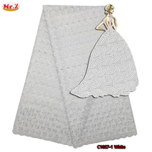 Mr.Z Big African Swiss Voile Lace High Quality Eyelet Cotton Swiss Lace Material Latest African Swiss Lace Fabric With Stones