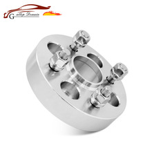1PCS PCD 4X108 Center Bore 65.1mm Thick 25mm Wheel Spacer Adapter For Peugeot 206/307/308/3008 wheel spacers M12XP1.5 Nut(China)