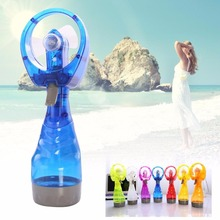 Portable Water Spray Travel Cooling Mist Fan Mini Outdoor Handheld Battery Operate Electric Personal