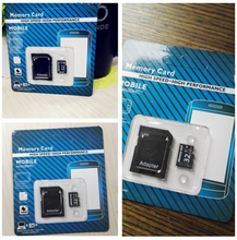 Real capacity discount good price for memory cards 4G 8G 16G 32G 128GB micro tf card TF card for cell phone with adapter