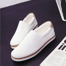Fashion Simple Slipony Women Loafers Shoes Spring Casual Ladies Dress Pointed Toe Shallow White Walking Comfortable Shoes Size 8