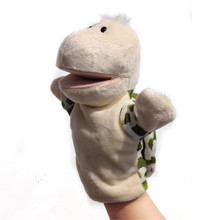 New Fashion Cartoon turtle Pattern finger puppet doll Cute finger puppet doll full body hand Kids toys for Baby Hot Sale(China)