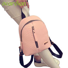 Backpacks Schoolbags Ocardian Elegance New Hot Women Leather Travel Shoulder Bag Mochila 17Apr26 Dropshipping