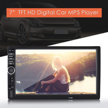 7inch HD Touch Screen Bluetooth Car MP5 Player FM Radio Auto Car MP4 Video Player USB AUX Remote Control Rearview Camera(China)