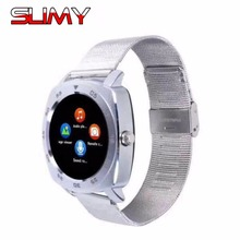 Slimy Bluetooth Smart Watch X3 Smartwatches for iOS iPhone Samsung Huawei Android Phones Good as DZ09 GT08 U8 V8 A1 Wristwatch