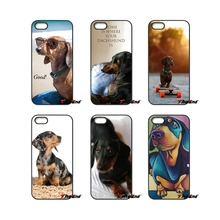 For iPod Touch iPhone 4 4S 5 5S 5C SE 6 6S 7 Plus Samung Galaxy A3 A5 J3 J5 J7 2016 2017 Dackel Dachshund Love My Dog Puppy Case