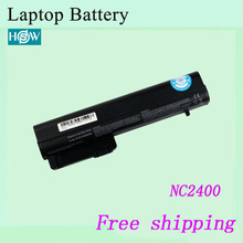 4400mah NC2400 NC2410 Laptop battery For HP Compaq Business 2510p 2530p 2533t Mobile Thin Client