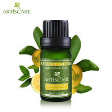 ARTISCARE 100% Pure Bergamot Essential Oil 10ml Clear Skin and Oil Control Facial Care Perfume DIY Face Cleaner Beauty Essence(China)