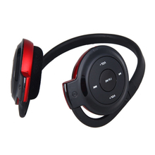Stereo DB Sport Headphone USB Headset TF Card MP3 Player Supported FM Radio(Red)(China)