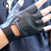 A Couple of Leather Glove Goat Pilu Gloves Skin Gloves Household Leisure
