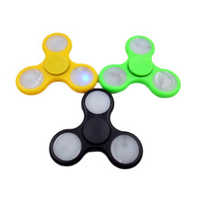 Shake Light Spinner Fidget Hand Colorful Lighting For Autism And ADHD Finger Spinner Anti Stress New Stress Reducer For ADHD