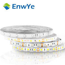 EnwYe 5M 300Leds waterproof RGB Led Strip Light 3528 5050 DC12V 60Leds/M Fiexble Light Led Ribbon Tape Home Decoration Lamp