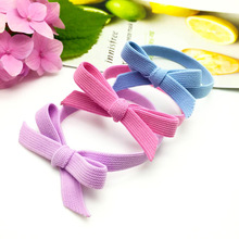 Korea's New Rubber Band Ring Bow Tie Rope 5pcs Hair Ropes(China)