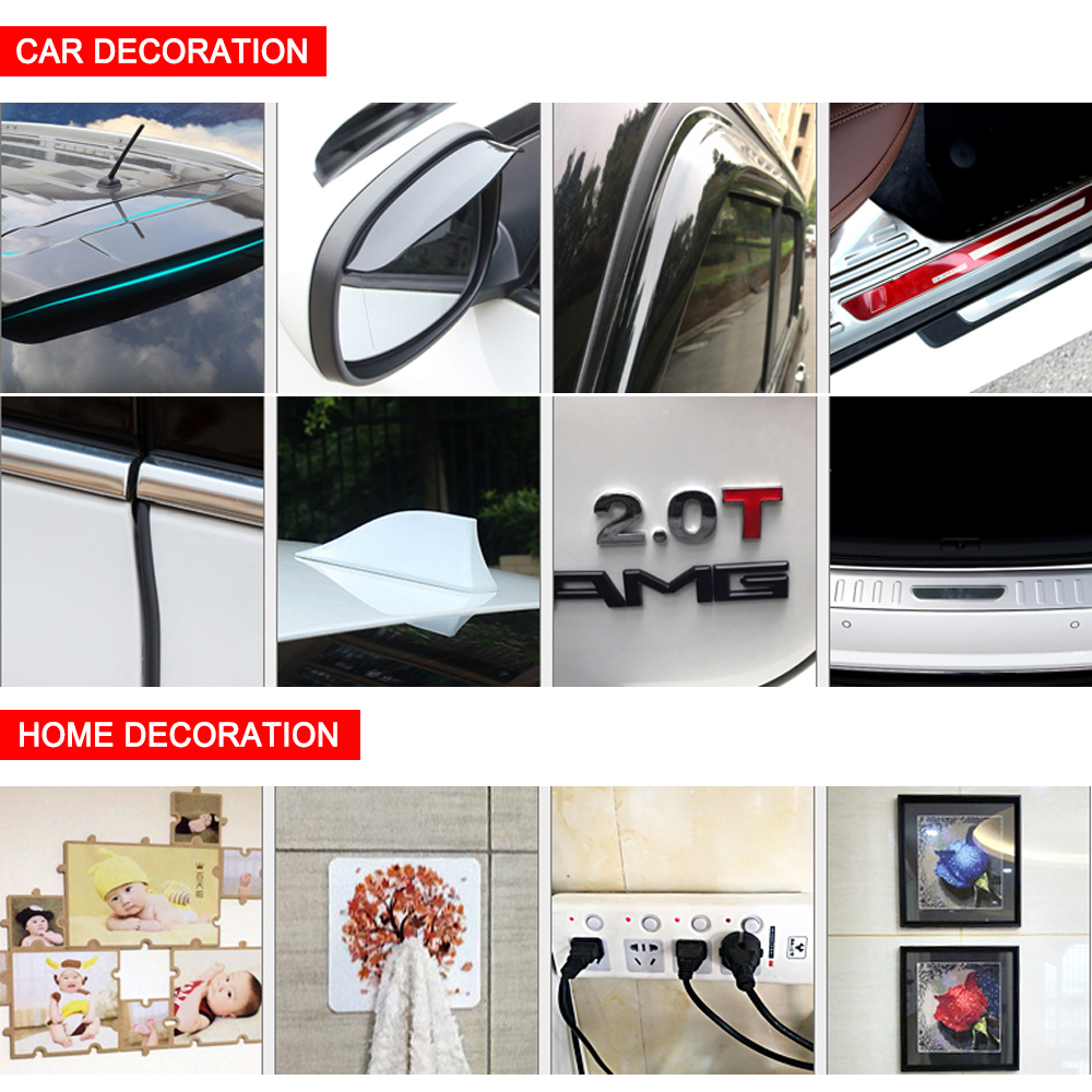 Car Double Side Tape Auto Glue Stickers Decoration Tools