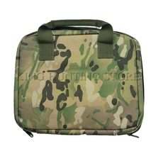 Perfection Single Pistol Range Bag Tactical Airsoft Gun Bag Soft Nylon Gun Case(China)