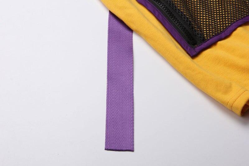Ribbon Zipper Pocket Tshirts 5