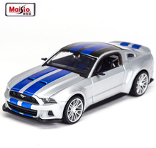 1:24 Need for Speed 2012 Mustang GT Alloy Car Model Metal For Collection Car Lovers Diecast Model For Kids Gifts Free Shipping(China)