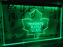 LD103- Toronto Maple Leafs LED Neon Light Sign home decor crafts(China)