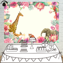 Allenjoy photography background flower animal Nature theme backdrop professional photo background studio camera fotografica