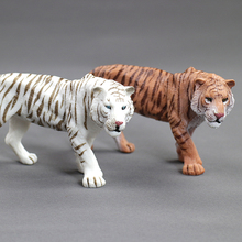 Hot toys for children:simulation of wild animal toy models,Tiger, white tiger,PVC plastic,toy animals,boys,girl for toys