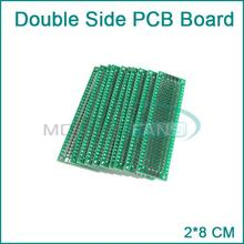 5pcs 2x8 cm double Side prototype pcb 2*8 panel Universal Board