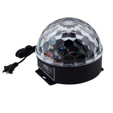 6Colors LED Crystal Magic Ball Effect Light Disco ball DJ Stage Party laser led Sound activated disco light cheap led ball