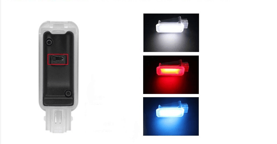 ECP VW LED Footwell Light For VW GOLF 6/7 GTI R20 JETTA MK5 MK6 TIGUAN Scirocco PASSAT B6 B7L CC include 3 Color choose anytime<br><br>Aliexpress