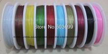 Copper Tiger Tail Beading Wire Cord Finding , Memory wire, Jewerly Cord, Tiger tail wire 10rolls/1000meters(China)