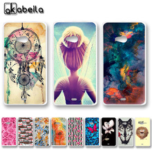 AKABEILA Soft TPU Phone Cases For Microsoft Nokia Lumia 540 N540 5.0 inch Covers Nutella Flamingo Tetris Back Silicone Housing(China)