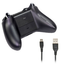 For Xbox One Gamepad Battery 2400mAh Rechargeable Battery Pack + USB Cable For Xbox One Controller Charging Kit High Quality