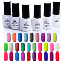 BORN PRETTY 1 Bottle 5ML Matte Soak Off UV Gel Varnish Polish Manicure Nail Art UV Builder 29 Colors