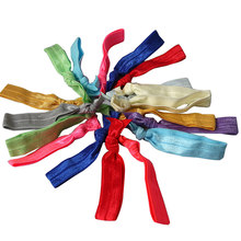 1 PCS Random Color New Fashion No Crease Magic Hair Ties Hairband Ponytail Fashion Bracelet Rope Wire Hair Accessories