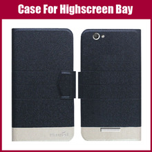 Hot Sale! New Arrival 5 Colors Fashion Flip Ultra-thin Leather Protective Cover For Highscreen Bay Case Phone Bag
