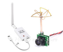 Mini 5.8G FPV OTG Receiver UVC Video Downlink VR Android Phone+48CH 25MW VTX 1000TVL FPV Camera Built-in Transmitter for RC Quad(China)
