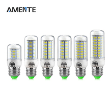 SMD 5730 LED bulb light  24/36/48/56/69/72 LEDs lamp Spotlight Replace Fluorescent E27 220V 240V Chandelier lighting