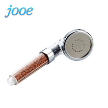 jooe Water Saving Shower Heads Anion SPA Bath Handheld Showerhead Filter Spray LED Temperature Control Nozzle Ducha For Bathroom