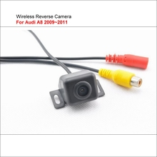 Wireless Reverse Camera For Audi A8 2009~2011 / HD Night Vision Reave View Camera / Back Up Plug & Play Easy Installation