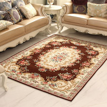 Luxury Jacquard European style Parlor Hallway Living Room Decoration Carpet Bedroom Soft House Rugs Door Mat Coffee Table Carpet